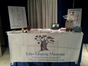 edenqigongmassage salon de l'autisme 2015